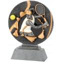 Trophée Résine Féminin Tennis