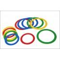 Lot de 6 anneaux de jonglerie